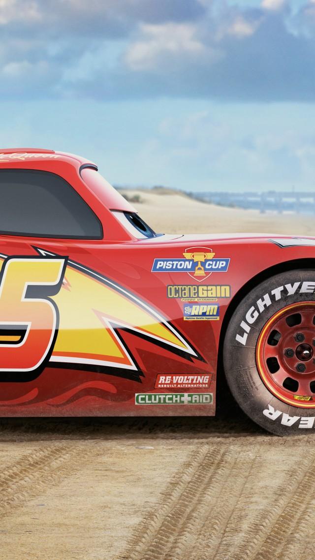 Wallpaper Cars 3, 8k, Lightning McQueen, poster, Movies #14179