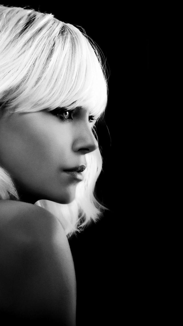 Atomic Blonde Charlize Theron 4k Vertical