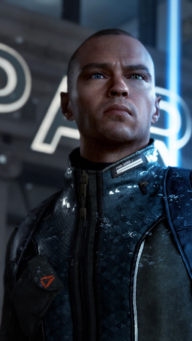 Detroit: Become Human, 4k, E3 2017, screenshot (vertical)