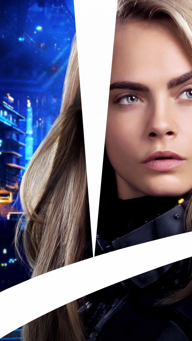 Valerian and the City of a Thousand Planets, 8k, Cara Delevingne (vertical)