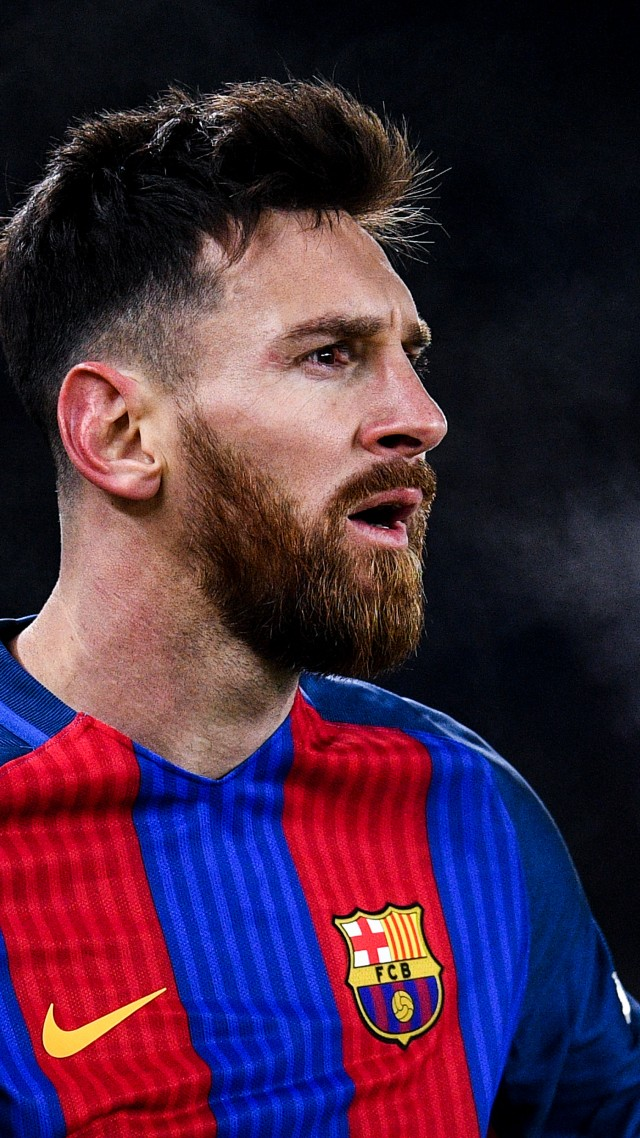 Lionel Messi, soccer, football, The best players 2016, 4k (vertical)