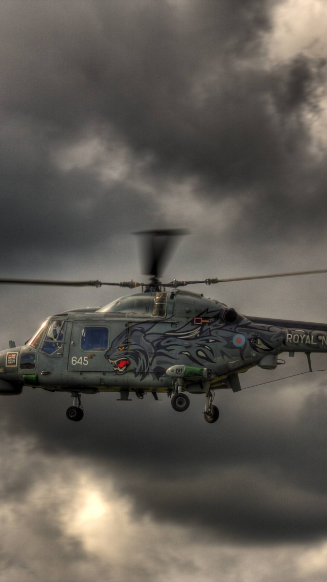 AW139, AgustaWestland, Westland, helicopter, Wild Cat, Royal Navy, flight, sky, clouds (vertical)