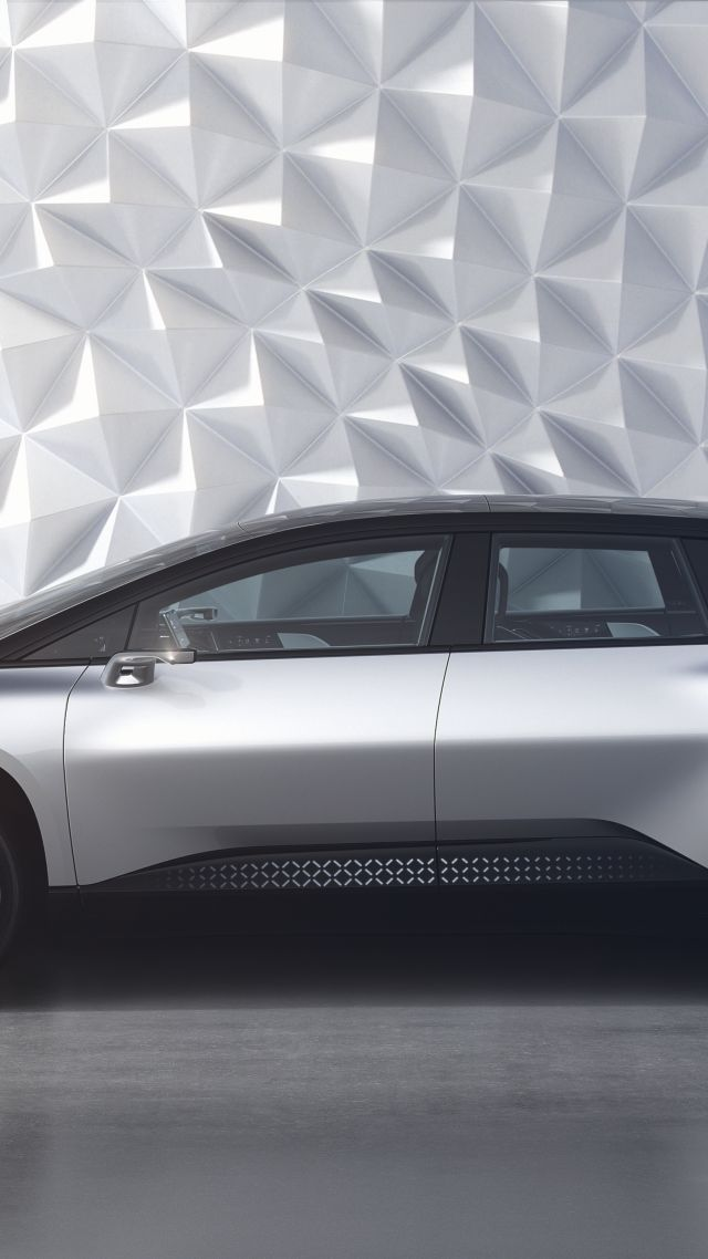Faraday Future, FF91, electric cars, 5k (vertical)