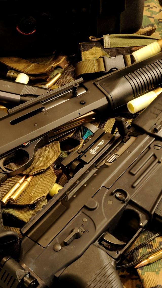Wallpaper Benelli M4 M1014 Super 90 Pump Action