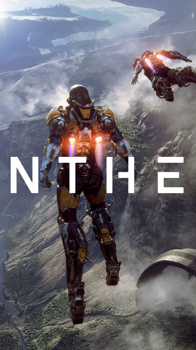 Wallpaper Anthem, 4k, poster, E3 2017, Games #14702