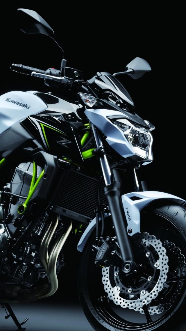 Kawasaki Z650 2017 Bikes 4k Vertical