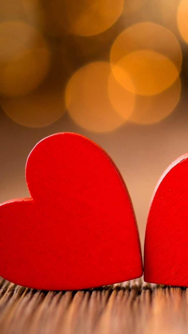 love image, heart, HD (vertical)
