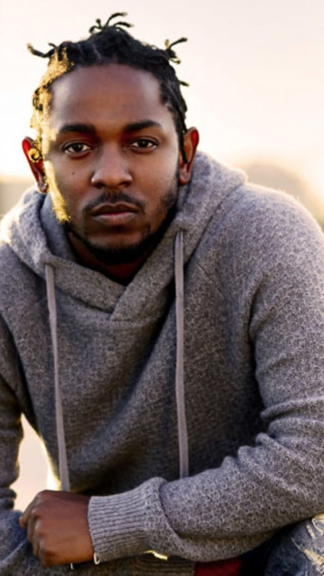 Kendrick Lamar, photo, 4k (vertical)