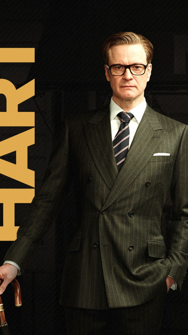 Kingsman: The Golden Circle, Colin Firth, 4k (vertical)