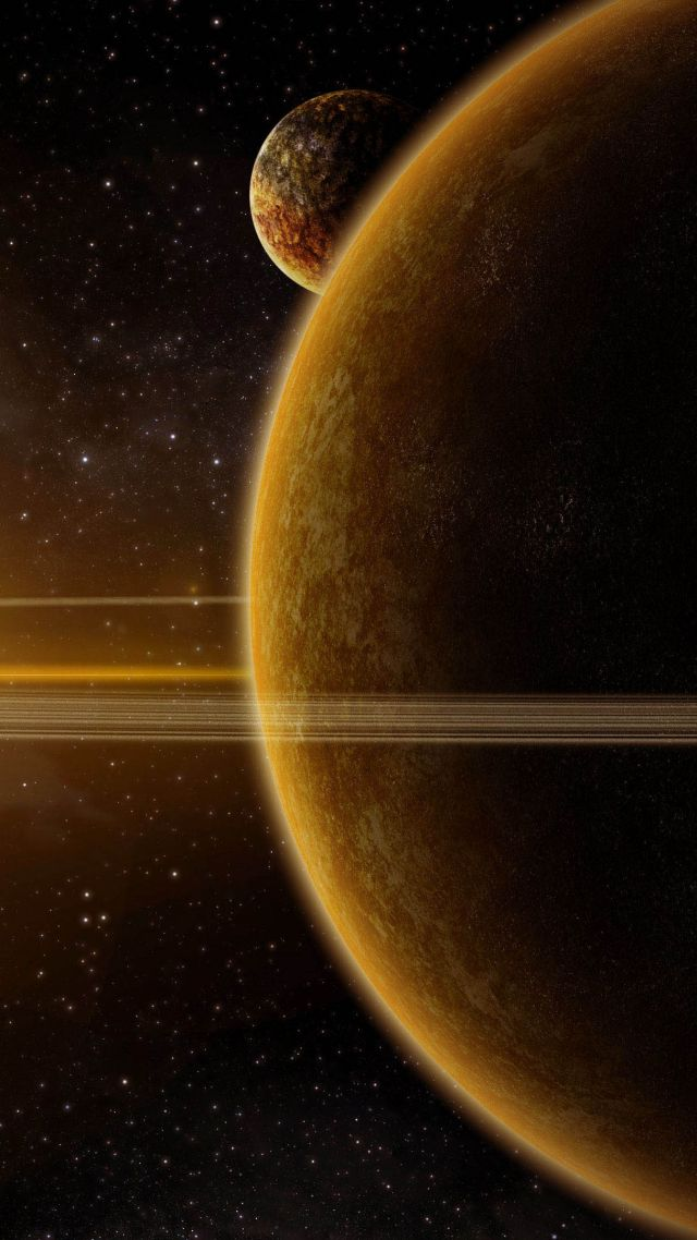 Solar System 4k Vertical