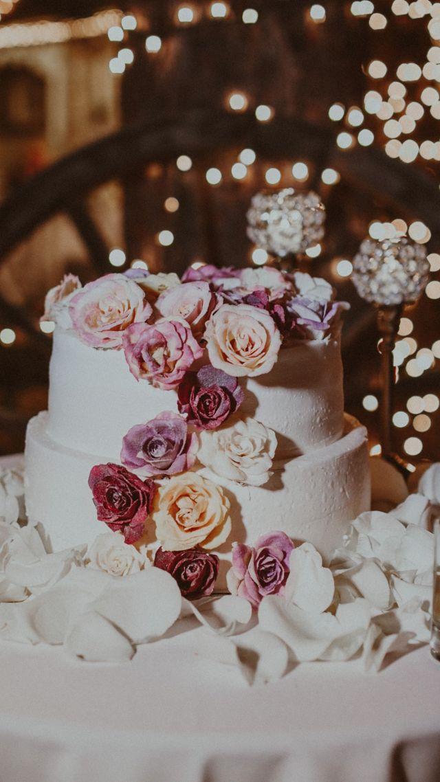 Wallpaper Wedding Cake Flowers 4k Food 14964