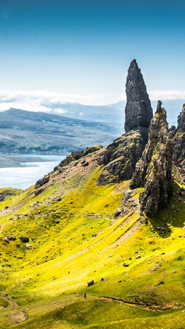 Wallpaper isle of skye scotland europe nature travel - Nature wallpaper vertical ...