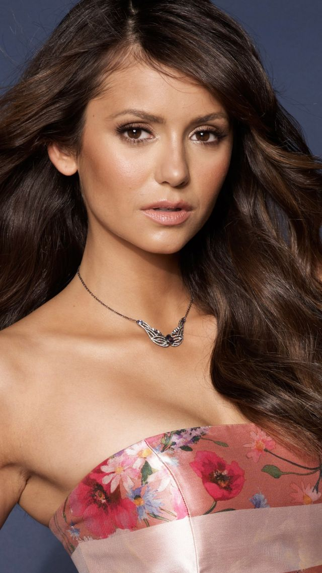 Nina Dobrev, beauty, 5k (vertical)