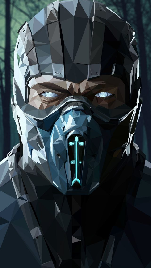 Wallpaper Mortal Kombat X Sub Zero Poster 4k Games 15066