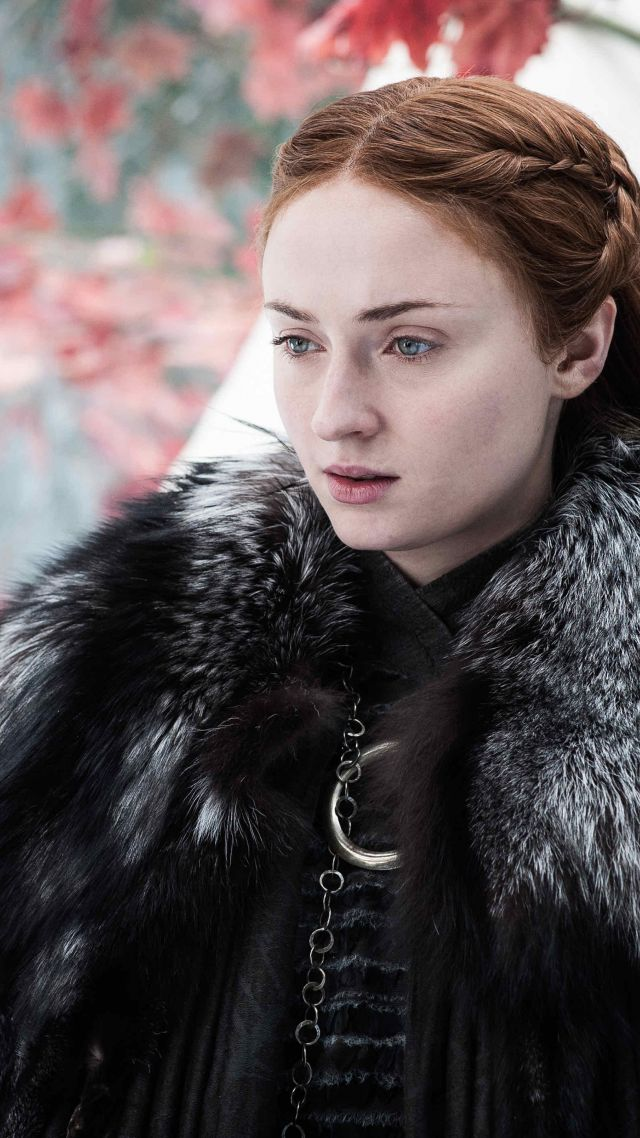 Game of Thrones Season 7, Sansa, Sophie Turner, TV Series, 4k (vertical)