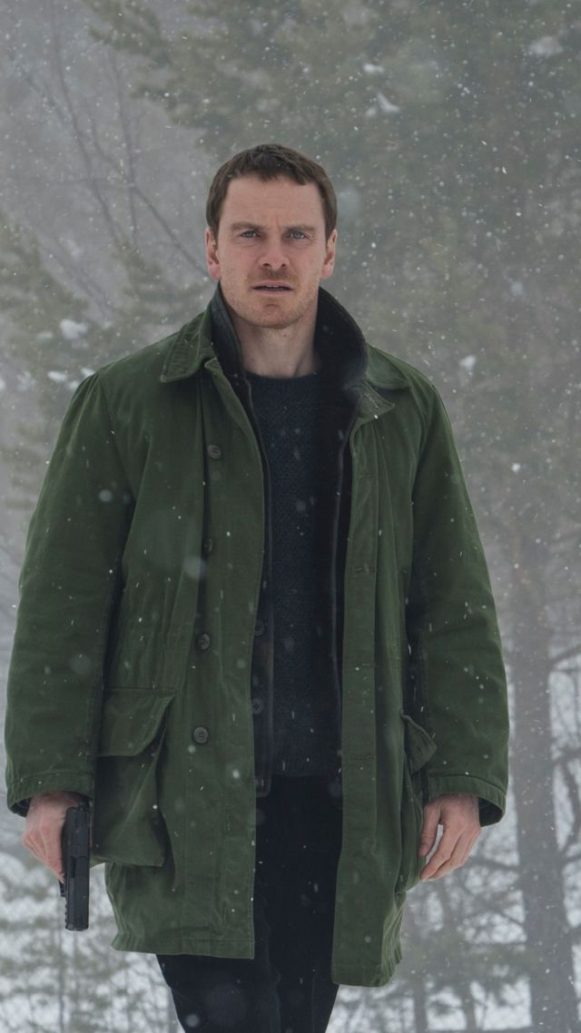 The Snowman, Michael Fassbender, 4k (vertical)