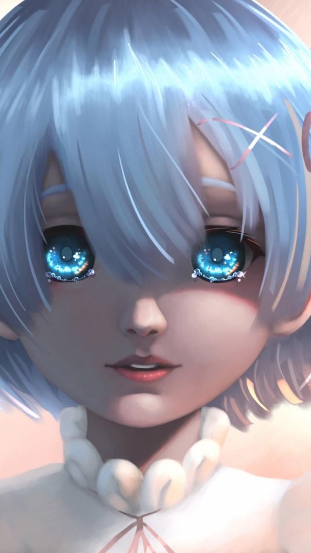 Anime Girl Beauty K Vertical