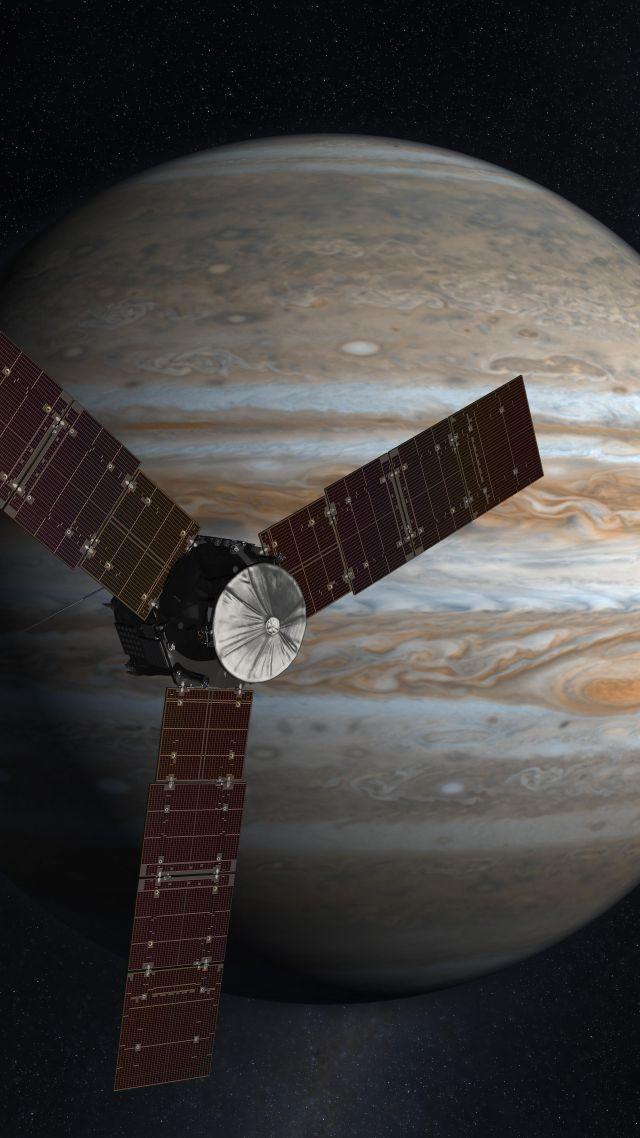 Wallpaper Jupiter Juno Nasa Space 4k Space 15344