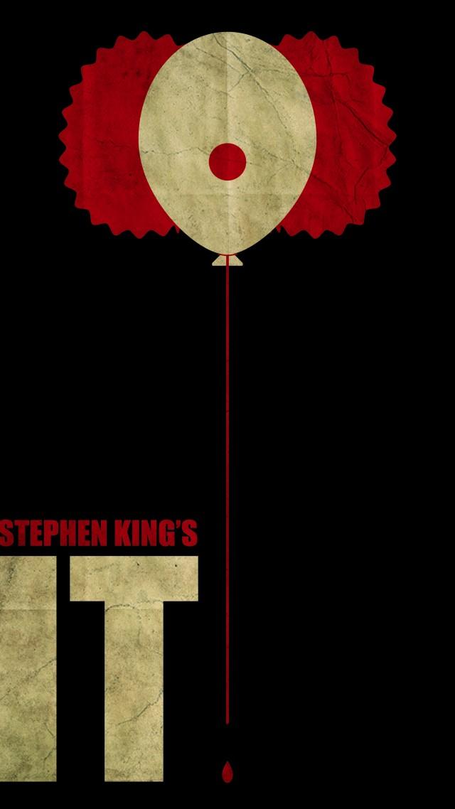 Wallpaper It, Stephen King, poster, 8k, Movies #15387