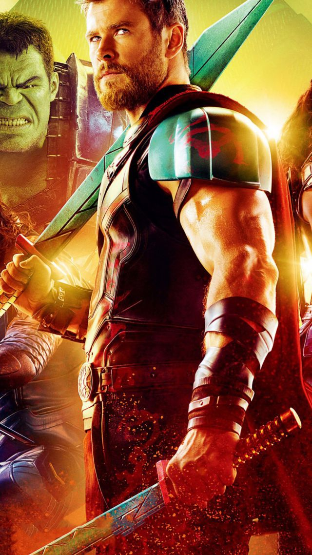 Wallpaper Thor Ragnarok Chris Hemsworth Poster 4k