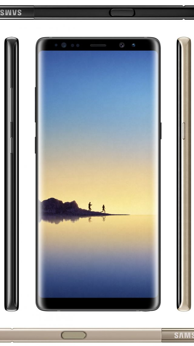 Samsung Galaxy Note 8 Smartphone 4k Vertical