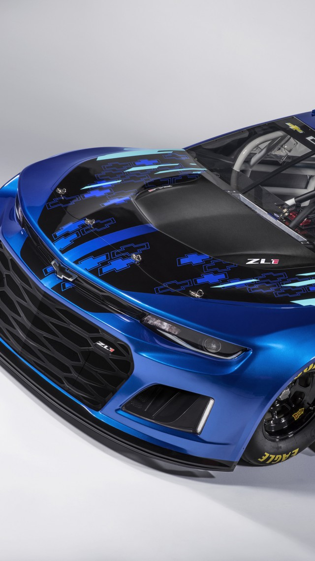 Chevrolet Camaro ZL1, 2018 Cars, 4k (vertical)