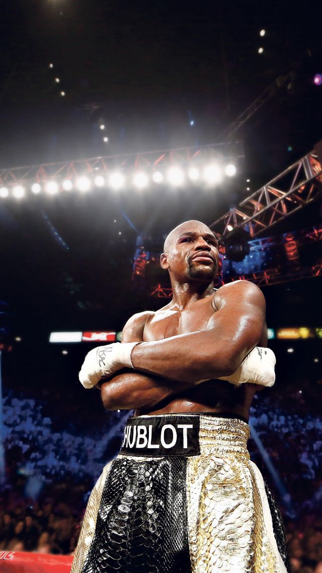Floyd Mayweather, boxing, 5k (vertical)