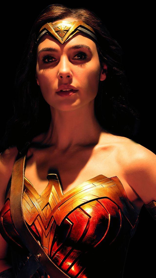Wallpaper Justice League Wonder Woman Gal Gadot 4k