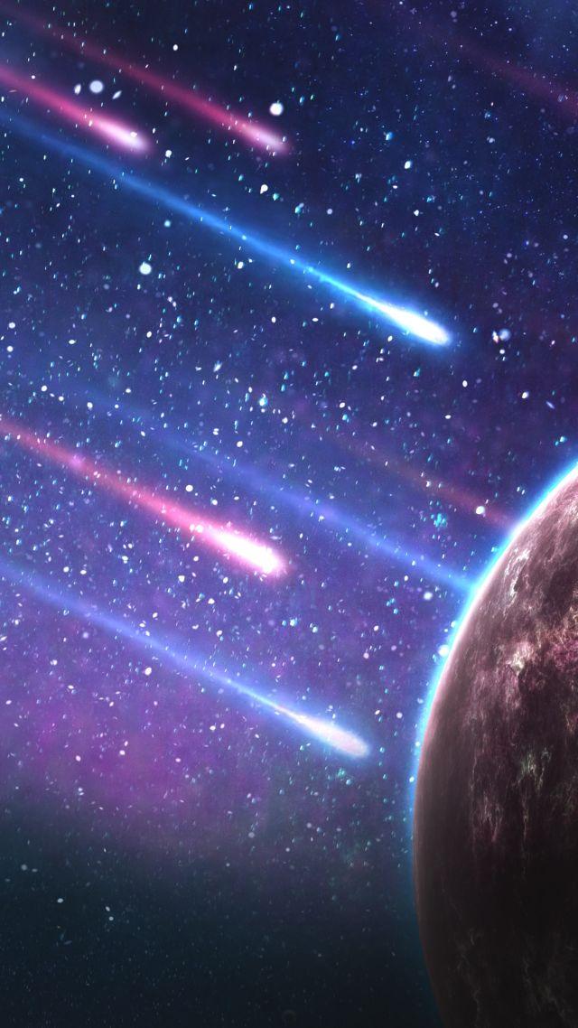 Stars Planet 4k Vertical
