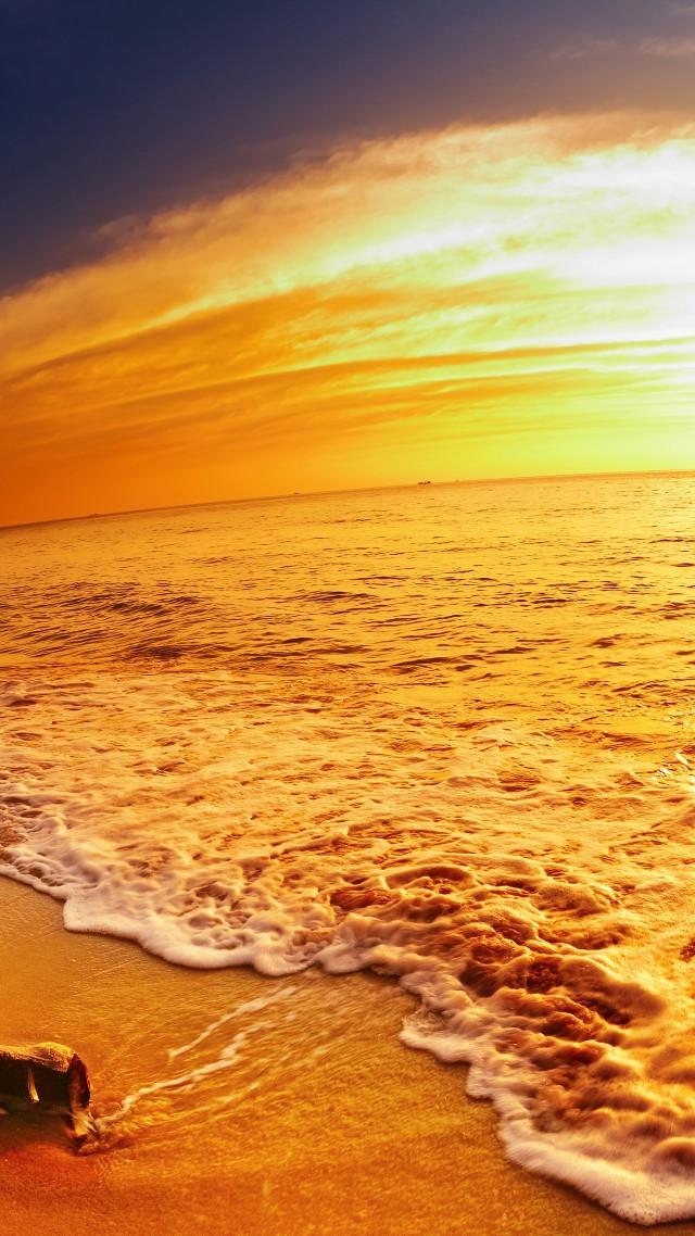 Wallpaper Beach 5k 4k 8k Ocean Sea Sunset Travel