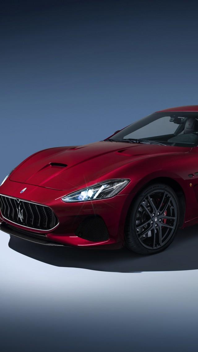 Nice ... Maserati GranTurismo Sport, 4k (vertical) Design Inspirations