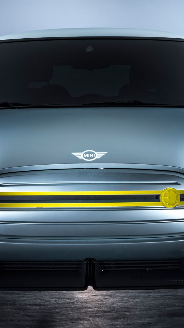 Mini Electric, electric car, HD (vertical)