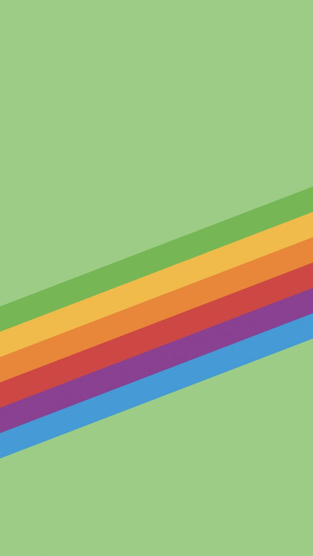 Wallpaper Iphone X Wallpapers Iphone 8 Ios11 Rainbow Retina 4k