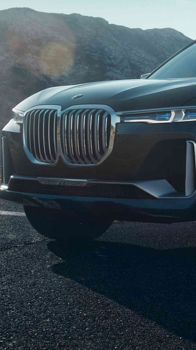 BMW X7, 2018 Cars, 4k (vertical)