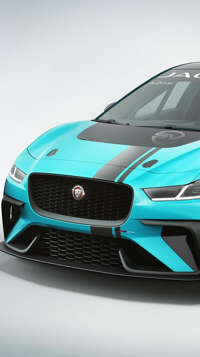 Wallpaper Jaguar I Pace Electric Car 4k Cars Bikes 15752