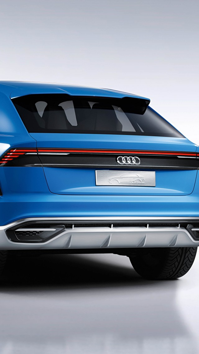 Audi Q8, 2018 Cars, 4k (vertical)