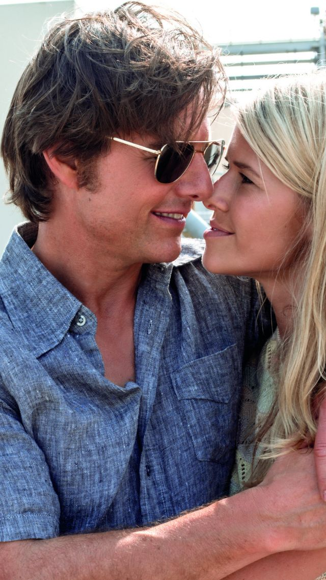 Wallpaper American Made Tom Cruise Sarah Wright 5k