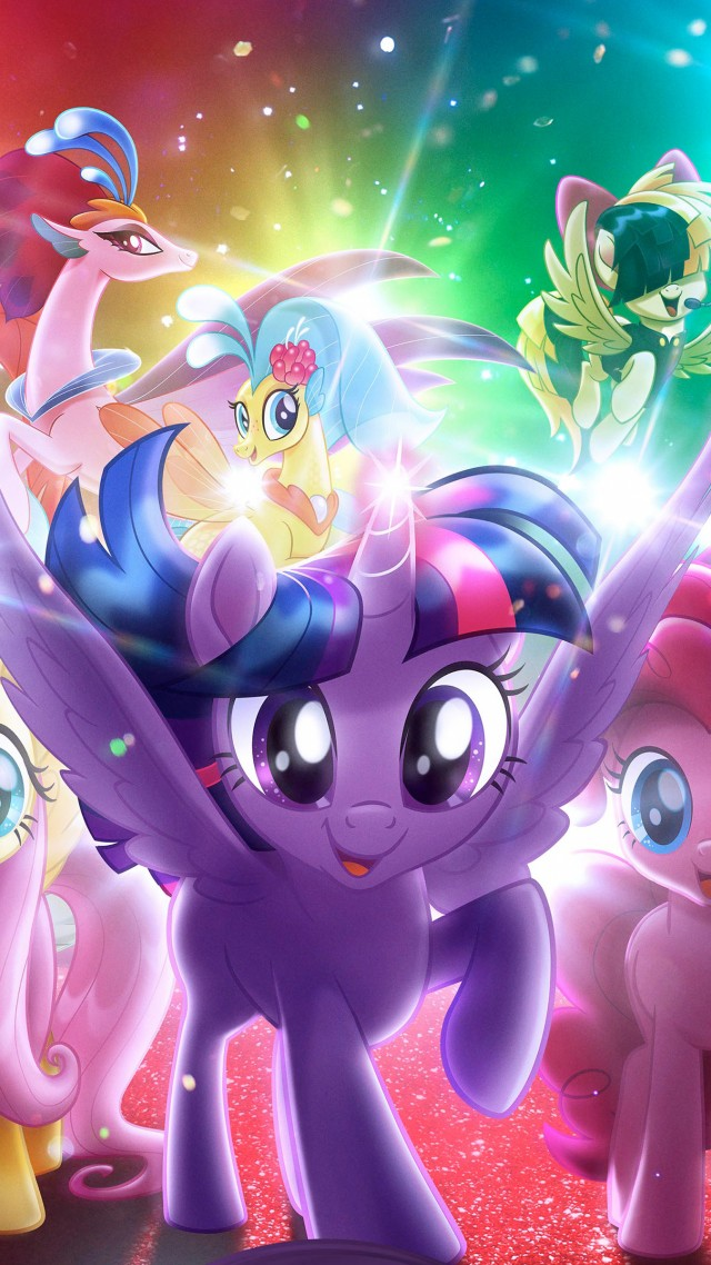 ... My Little Pony: The Movie, 4k (vertical)