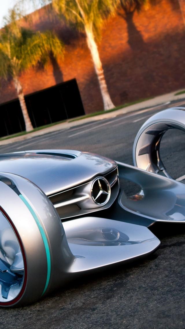 ... Mercedes Benz Silver Arrow, Future Cars, 4k (vertical)