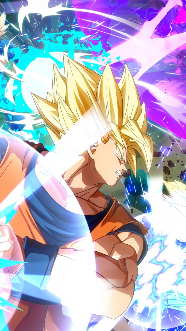 Dragon Ball FighterZ, Tokyo Game Show 2017, screenshot, 8k (vertical)