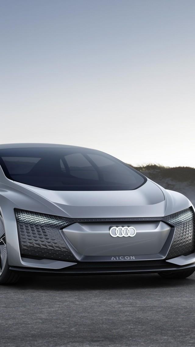 wallpaper audi aicon electric car 5k cars bikes 15947. Black Bedroom Furniture Sets. Home Design Ideas