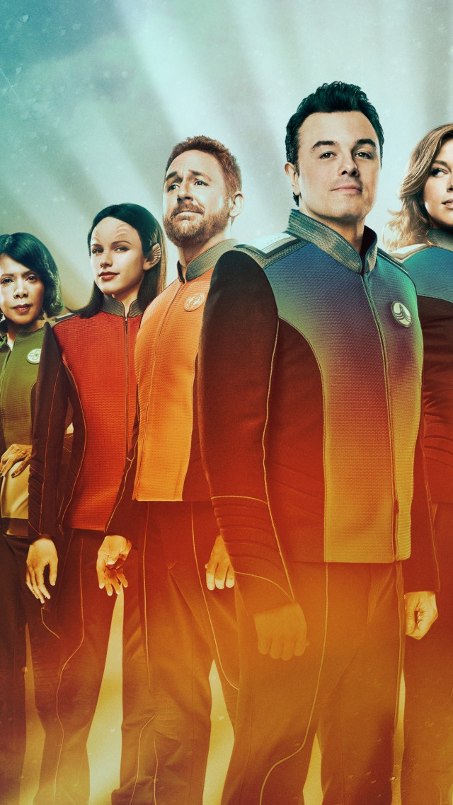 The Orville Season 1, Seth MacFarlane, Adrianne Palicki, Scott Grimes, TV Series, 5k (vertical)