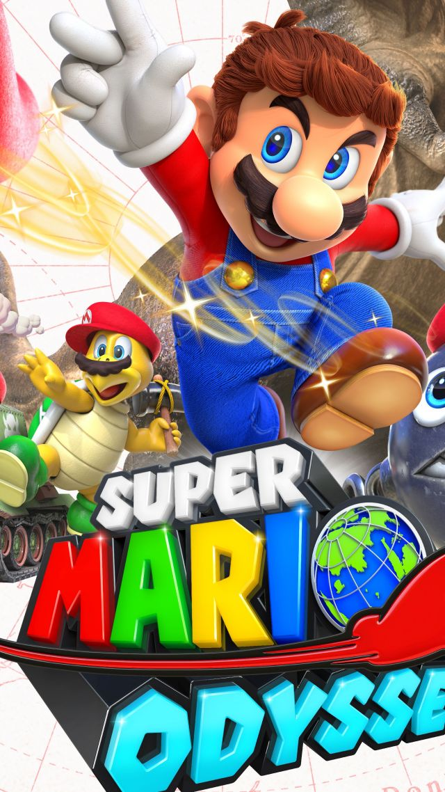 Wallpaper Super Mario Odyssey Poster E3 2017 5k Games