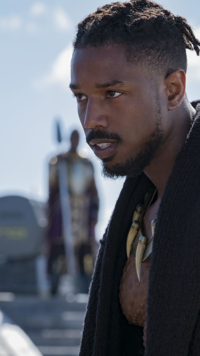 Wallpaper Black Panther Michael B Jordan 4k Movies 16183