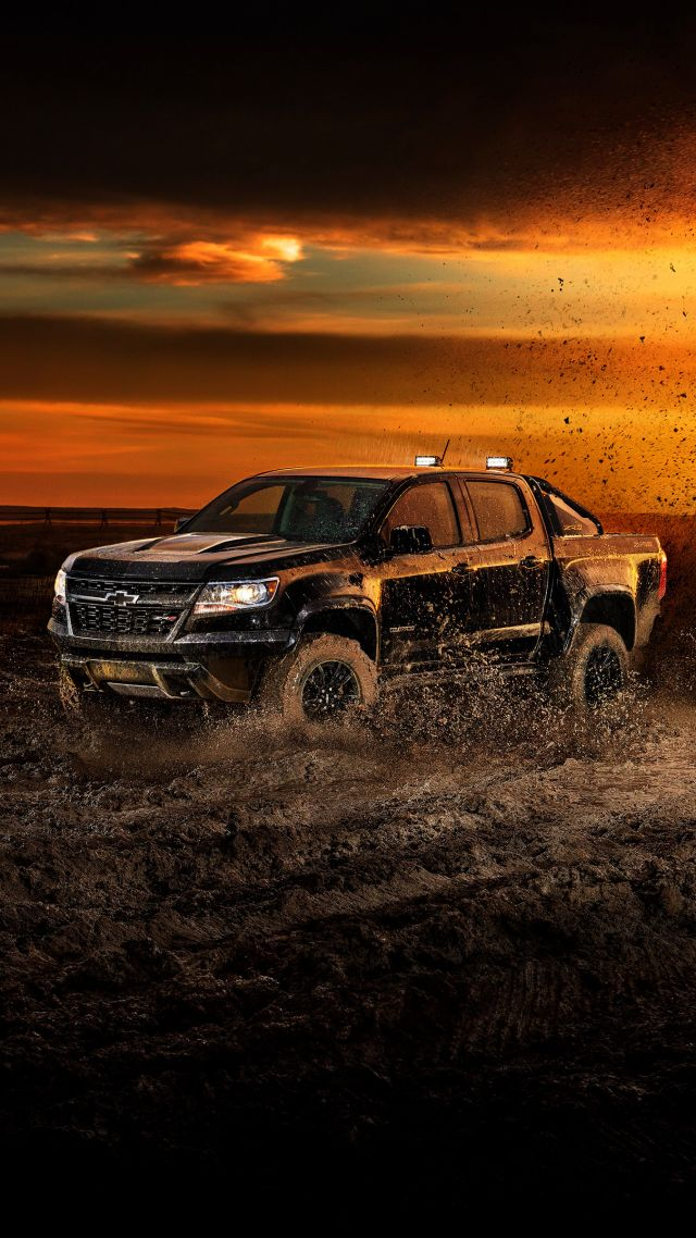 Chevrolet Colorado ZR2, 2018 Cars, 4k