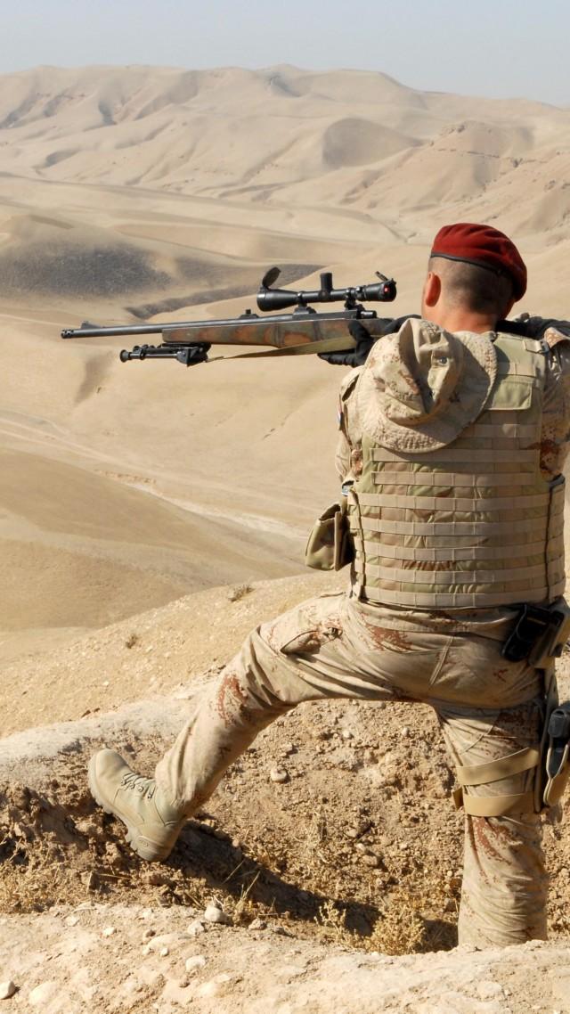 Wallpaper Em 992 Soldier Sniper Rifle Elmech Emm 992