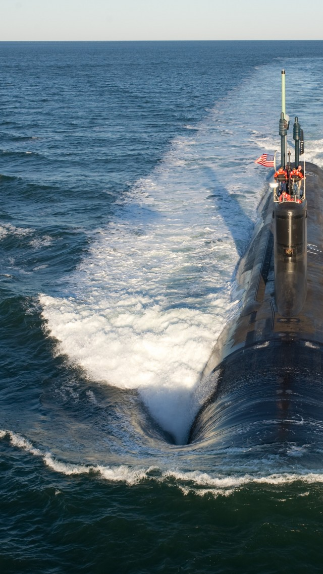 USS North Dakota, submarine, SSN-784, Virginia-class, U.S. Navy (vertical)