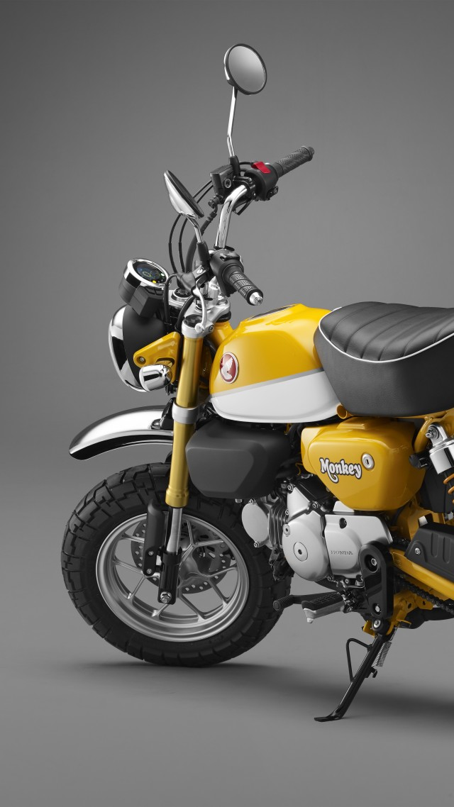 Wallpaper Honda Monkey 125 8k Cars Amp Bikes 16481