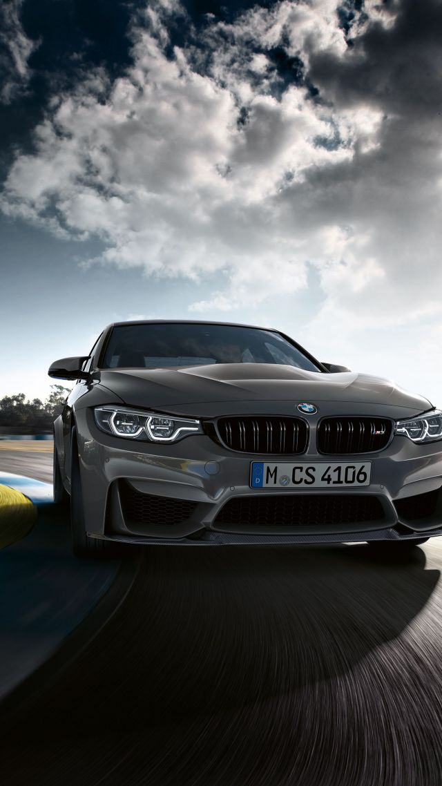 ... BMW M3 CS, Cars 2018, 4k (vertical)