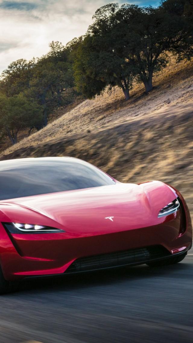 Wallpaper Tesla Roadster Electric Car 4k Cars Amp Bikes